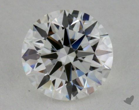 0.79 Carat H-VVS1 True Hearts<sup>TM</sup> Ideal Diamond