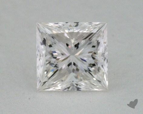 1.00 Carat G-VS2 Very Good Cut Princess Diamond