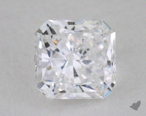 0.59 Carat D-VS2 Radiant Cut  Diamond