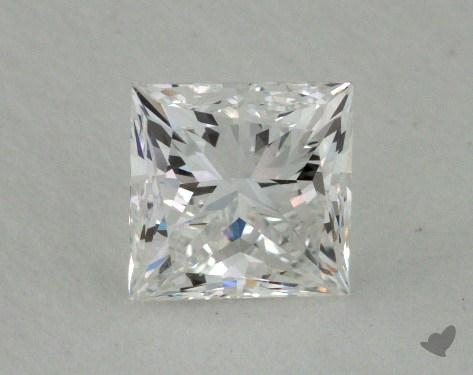 1.04 Carat E-VVS2 Ideal Cut Princess Diamond