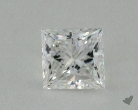 1.03 Carat E-VS1 Ideal Cut Princess Diamond