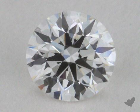 0.35 Carat F-VVS1 Excellent Cut Round Diamond