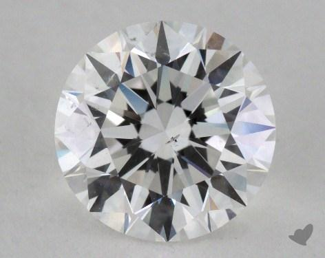 1.37 Carat E-SI1 Very Good Cut Round Diamond