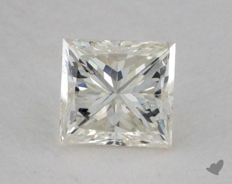 0.64 Carat J-SI1 Fair Cut Princess Diamond