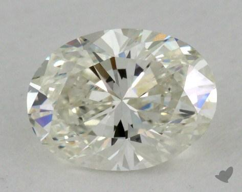 1.00 Carat J-VS1 Oval Cut Diamond