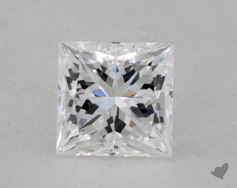 0.56 Carat E-VVS1 Ideal Cut Princess Diamond