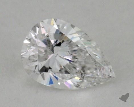 0.72 Carat E-SI2 Pear Shape Diamond