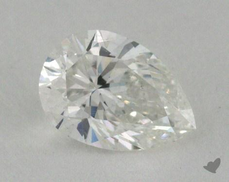 0.71 Carat F-SI2 Pear Shaped  Diamond