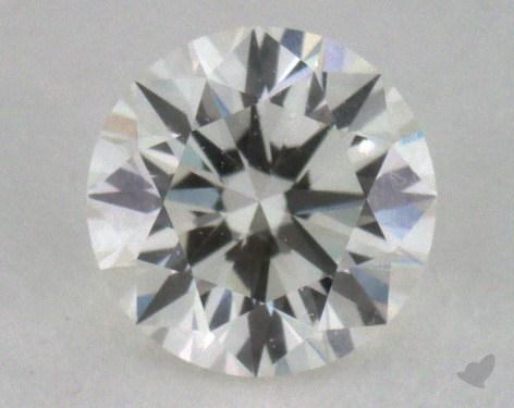 0.42 Carat I-VVS2 Excellent Cut Round Diamond