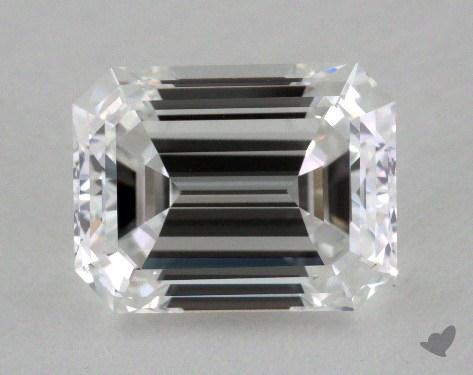 1.31 Carat E-VVS2 Emerald Cut Diamond