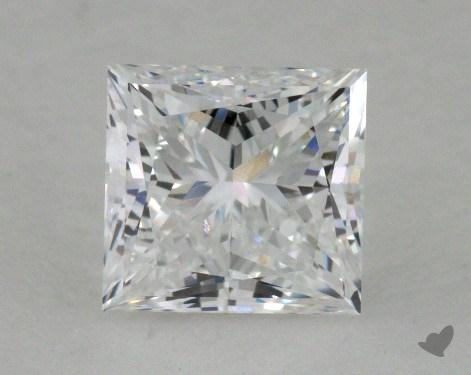 1.21 Carat D-VS2 Good Cut Princess Diamond