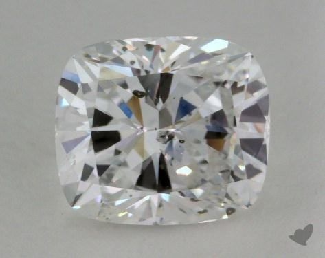 2.07 Carat D-SI2 Cushion Cut  Diamond
