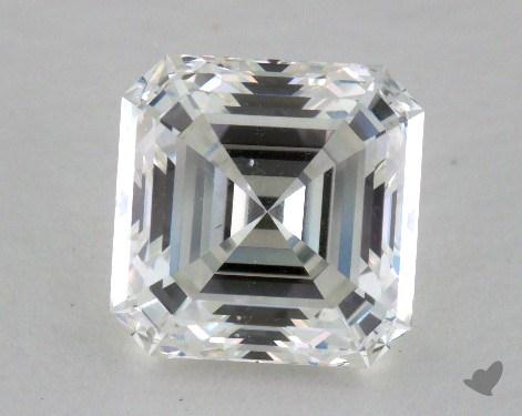 1.29 Carat F-SI1 Asscher Cut  Diamond