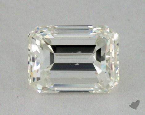 0.72 Carat F-SI1 Emerald Cut Diamond