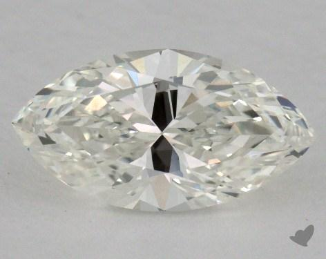 0.61 Carat D-VVS2 Marquise Cut Diamond