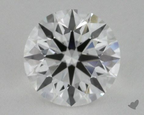 0.66 Carat F-SI1 Excellent Cut Round Diamond