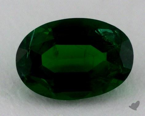 <b>0.76</b> carat Oval Natural Green Emerald