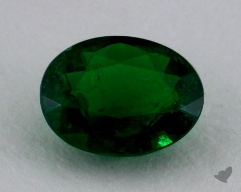 <b>1.06</b> carat Oval Natural Green Emerald