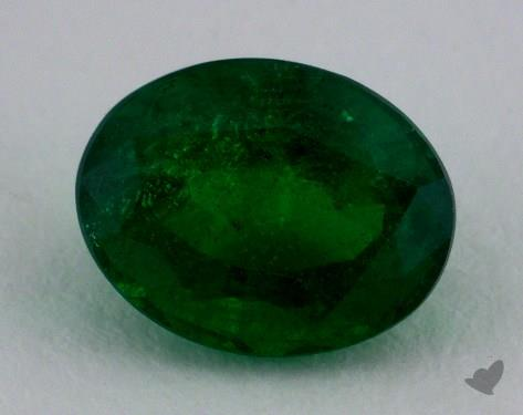 <b>2.21</b> carat Oval Natural Green Emerald
