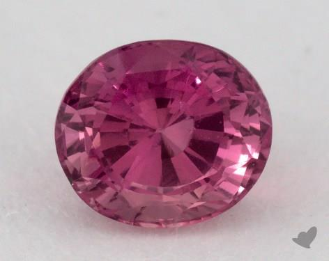 <b>1.39</b> carat Cushion Natural Pink Sapphire