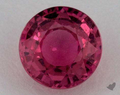 <b>1.00</b> carat Round Natural Pink Sapphire