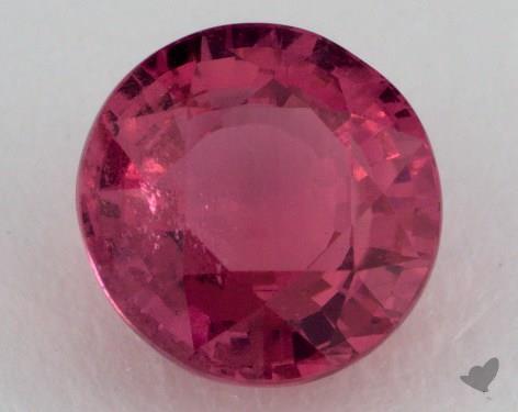 <b>3.02</b> carat Round Natural Pink Sapphire