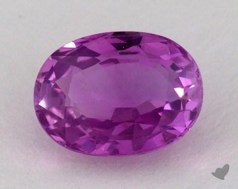 <b>2.26</b> carat Oval Natural Pink Sapphire
