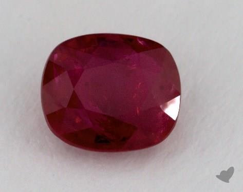 <b>2.14</b> carat Cushion Natural Ruby