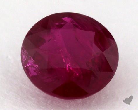 <b>2.23</b> carat Round Natural Ruby