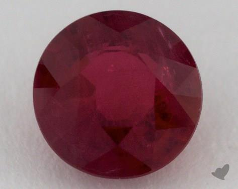 <b>2.24</b> carat Round Natural Ruby