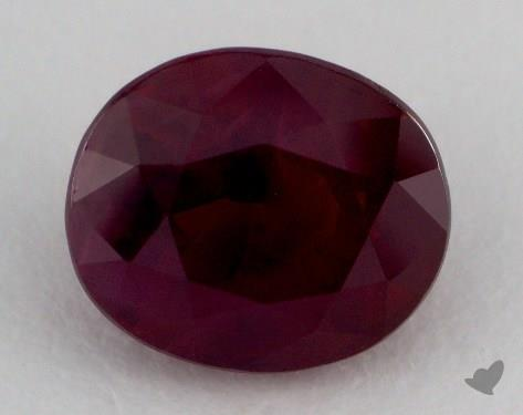 <b>3.18</b> carat Oval Natural Ruby