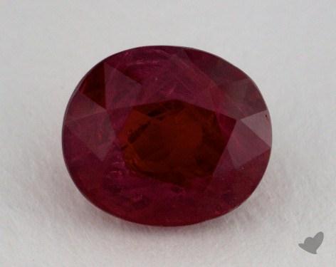 <b>4.05</b> carat Oval Natural Ruby