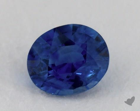 <b>1.01</b> carat Cushion Natural Blue Sapphire