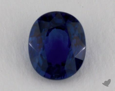 <b>1.84</b> carat Oval Natural Blue Sapphire
