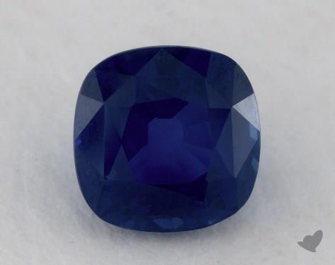 <b>1.96</b> carat Cushion Natural Blue Sapphire