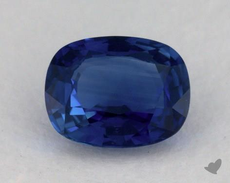 <b>3.96</b> carat Cushion Natural Blue Sapphire