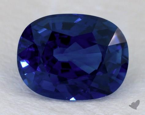 <b>2.00</b> carat Cushion Natural Blue Sapphire