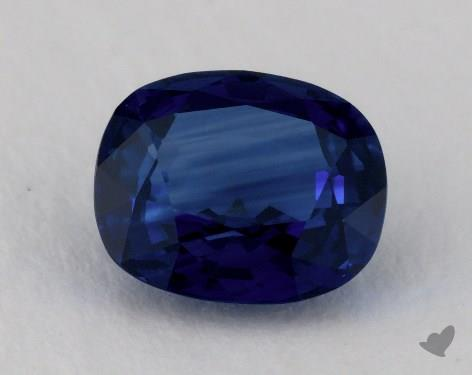 <b>2.06</b> carat Cushion Natural Blue Sapphire