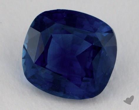 <b>2.54</b> carat Cushion Natural Blue Sapphire
