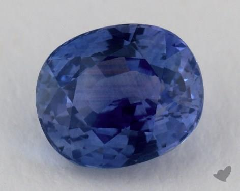 <b>2.76</b> carat Cushion Natural Blue Sapphire