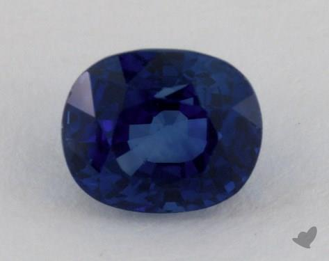 <b>3.02</b> carat Cushion Natural Blue Sapphire