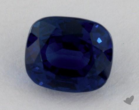 <b>3.16</b> carat Cushion Natural Blue Sapphire