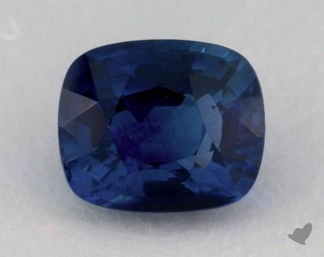<b>4.08</b> carat Cushion Natural Blue Sapphire