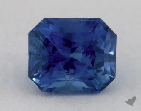 <b>2.81</b> carat Radiant Natural Blue Sapphire