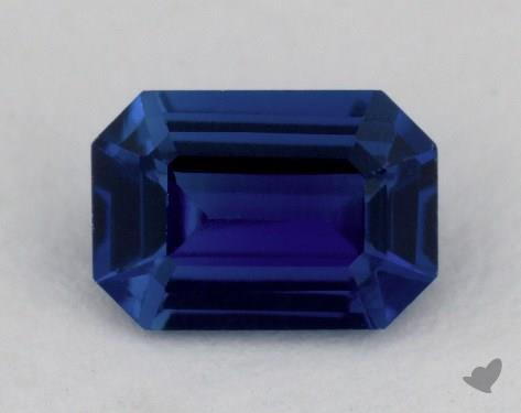 <b>0.81</b> carat Emerald Natural Blue Sapphire
