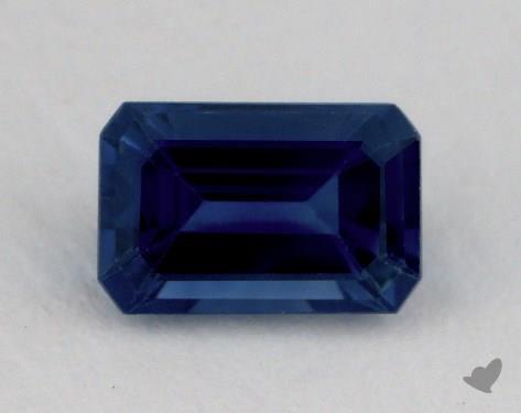 <b>0.95</b> carat Emerald Natural Blue Sapphire