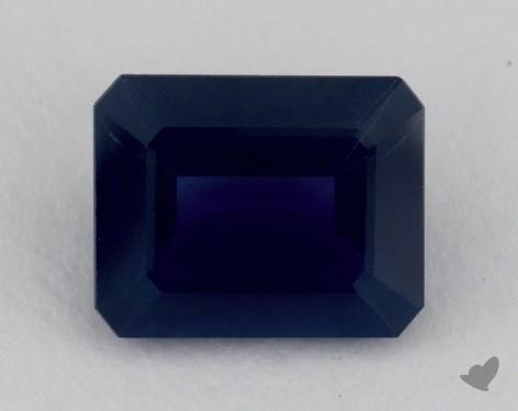 <b>3.06</b> carat Emerald Natural Blue Sapphire