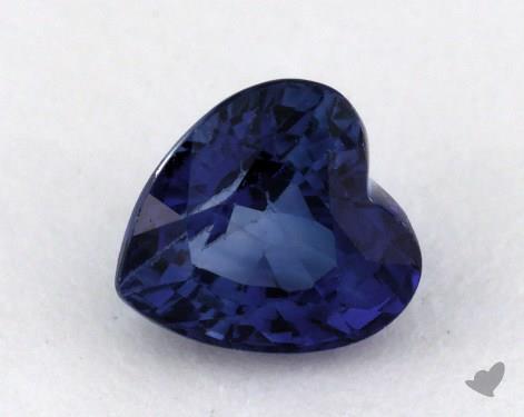 <b>0.89</b> carat Heart Natural Blue Sapphire