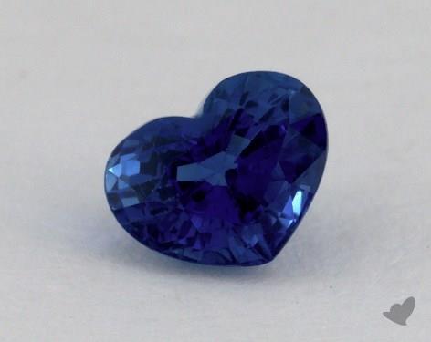 <b>1.19</b> carat Heart Natural Blue Sapphire