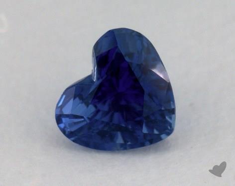 <b>1.94</b> carat Heart Natural Blue Sapphire